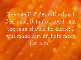 Be a helper to your spouse, don't go it alone