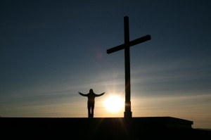 Praying at the Cross