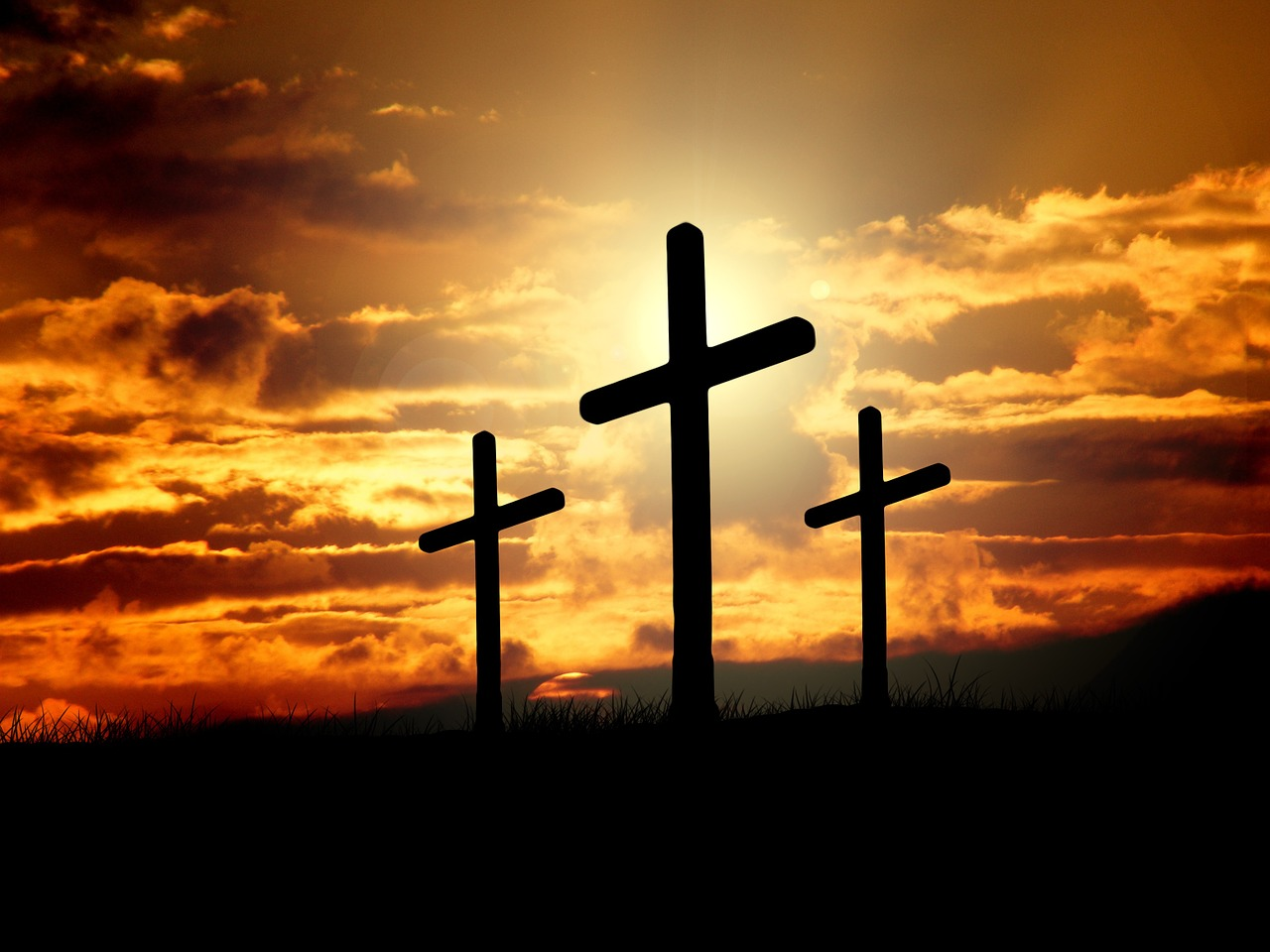 god made the cross for jesus and us