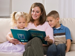 Summer reading can be fun and provide great family time.