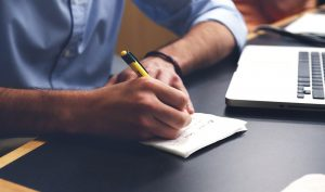 Journaling is a great activity to have on your daily checklist.