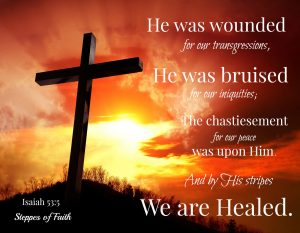 Jesus' suffering on the cross for us proves His great love and compassion for us.