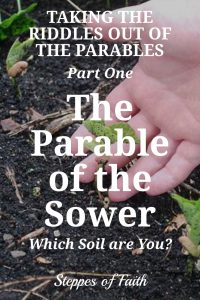 Taking the Riddles Out of the Parables_Part One: The Parable of the Sower by Steppes of Faith