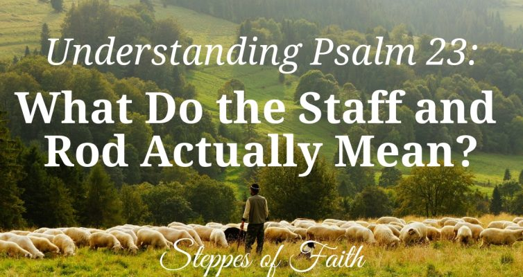 Understanding Psalm 23: What Do the Staff and Rod Actually Mean? by Steppes of Faith