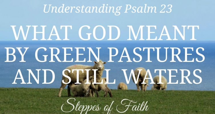 Understanding Psalm 23: What God Meant by Green Pastures and Still Waters