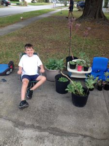 Summer gardening teaches kids responsibility and rewards their effort.