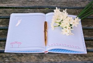 Gratitude journals are a great way to count your blessings when you want to keep it private.