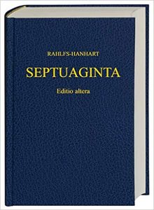 The Septuagint is a compilation of books left out of the Catholic Bible.