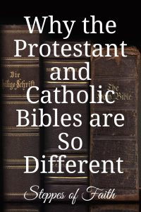 """Why the Protestant and Catholic Bibles are So Different"" by Steppes of Faith"