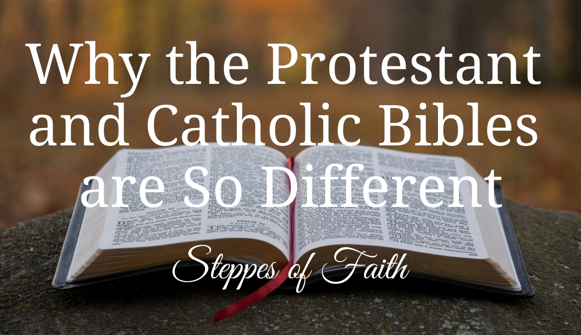 Why the Protestant and Catholic Bibles are So Different