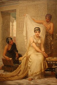 Esther was required to receive beauty treatments before she was allowed to see the king.