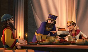Esther threw a banquet to give her an opportunity to tell the king about Haman's evil plot.