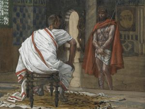 Pilate was afraid that Jesus really was the Son of God.