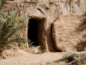 Jesus victoriously conquered the grave!