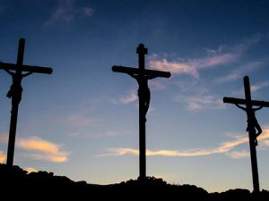 Without Jesus dying on the cross, we would have no hope of heaven.