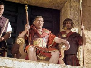 Pilate did not want to meet with Jesus.