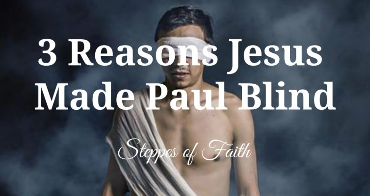 """3 Reasons Why Jesus Made Paul Blind"" by Steppes of Faith"