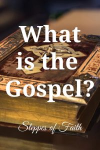 """What is the Gospel?"" by Steppes of Faith"