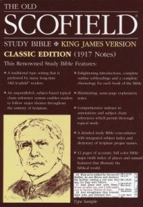 Scofield Study Bible supports the idea that the kingdom of God and the kingdom of heaven are two different things.