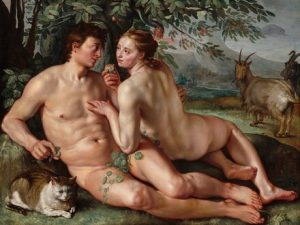 Rabbinic legend says Lilith was Adam's first wife, not Eve.