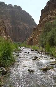 The Israelites camped next to the Arnon River in Jordan on their way to the Promised Land.
