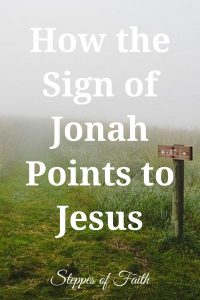 """How the Sign of Jonah Points to Jesus"" by Steppes of Faith"