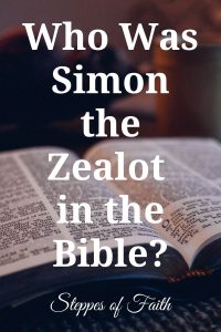 """Who Was Simon the Zealot in the Bible?"" by Steppes of Faith"