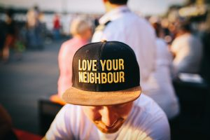 """Love your neighbor as yourself."" Matthew 22:38"