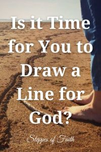 """""""Is it Time for You to Draw a Line for God?"""" by Steppes of Faith"""
