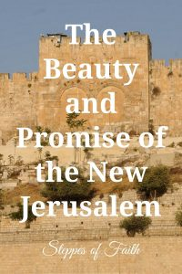 The Beauty and Promise of the New Jerusalem by Steppes of Faith