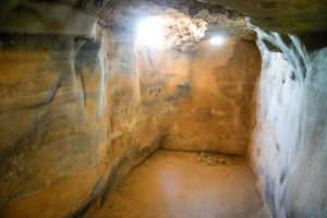An underground cistern