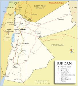 Modern-day Jordan now contains the ancient Nabatean kingdom.