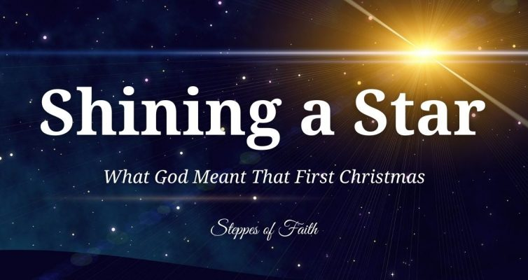 Shining a Star: What God Meant That First Christmas by Steppes of Faith