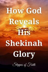How God Reveals His Shekinah Glory by Steppes of Faith