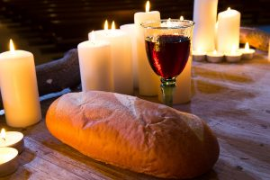 Jesus' body and blood on the cross is the reason why we celebrate communion.