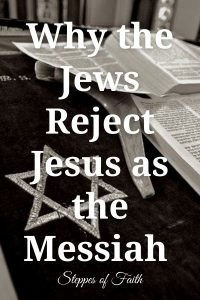 """""""Why Jews Reject Jesus as the Messiah"""" by Steppes of Faith"""