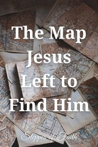"""""""The Map Jesus Left to Find Him"""" by Steppes of Faith"""